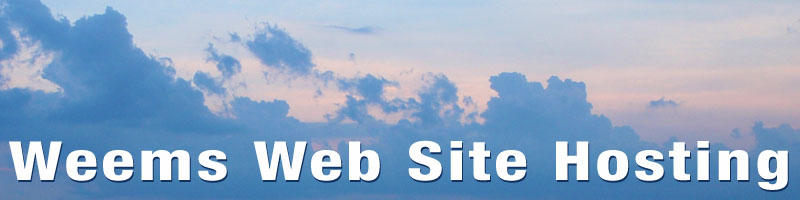 WEEMS WEB SITE HOSTING